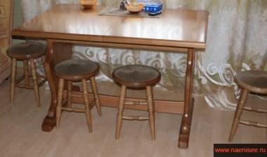 кухонная мебель из дерева